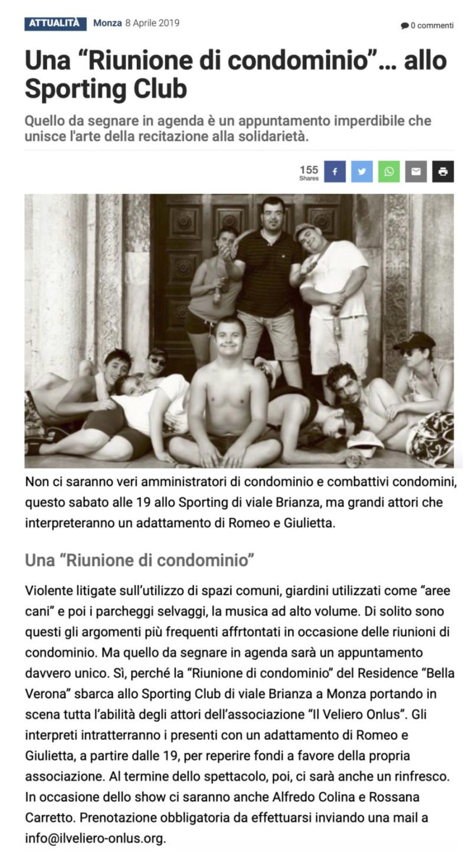 2019 04 - 08 Aprile - Giornale di Monza.it - Una Riunione di condominio... allo Spoerting Club. jpeg