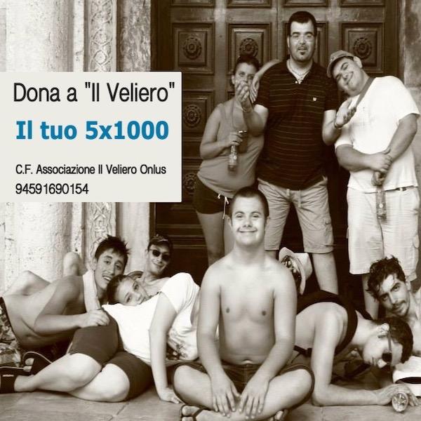 Dona il 5X1000 al Veliero Monza
